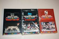 Lot 31990-91 LHMQ OHL WHL Ligue De Hockey CARDS Majeur Du Quebec Factory Sealed