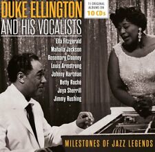 DUKE ELLINGTON - MILESTONES OF A JAZZ LEGEND 10CD WALLET BOX SET 10 CD NEUF