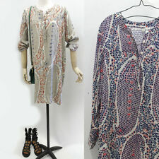 Cotton Blend Unbranded Hand-wash Only Floral Dresses for Women