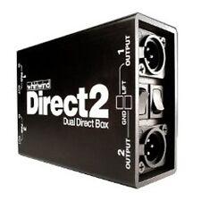 Whirlwind Director II Direct 2 Channel Direct Box DI