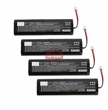 4 REPLACEMENT LI-ION BATTERY FOR TOPCON GPS,24-030001-01,L18650-4TOP,HIPER