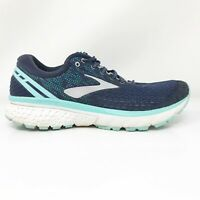 Brooks Womens Ghost 11 1202771B493 Blue Running Shoes Lace Up Low Top Size 10 B