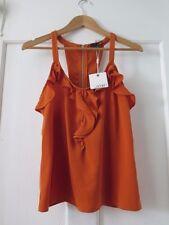 LADAKH Sz 8 Burnt Orange Blouse BNWTGS  RRP $49.95
