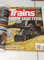 Trains Magazine Vintage Railway history October 2009 Rio Grande Midnight