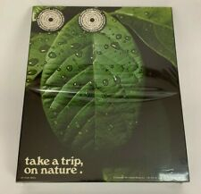 Vintage 1971 Gemini 500 Pc. Puzzle High On Nature Take A Trip On Nature Leaf