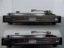 USB Plattenspieler MP3 33/45 Fernbedienung Rubinnadel LC Display Pitch-Level NEU