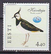 ESTONIA 2001**MNH SC# 413 The Bird (Vanellus)