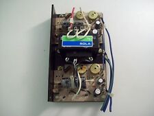 SOLA 83-15-2170 15VDC 7A POWER SUPPLY - FREE SHIPPING!!!