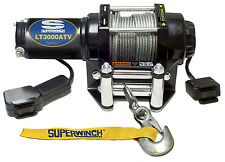 NEW Superwinch 1125220 ATV 2500 lbs Terra ATV Winch Truck Trailer Tow 1.3 HP