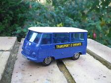 SOLIDO 355 de 1976 PEUGEOT J7 minibus transport d'enfant comme neuf, sans boite