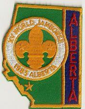 1983 World Scout Jamboree Alberta Canada Contingent Patch