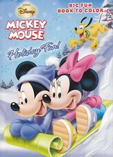 New Mickey Mouse Christmas Coloring Book ~ Holiday Fun!