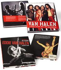 Van Halen Coffee Table Book Set - New, Neil Zlozower, Visual History, Free Ship