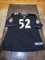 Nike On Field Ray Lewis Jersey Size XL EUC Baltimore Ravens Stitched