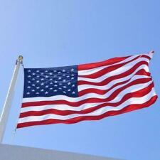 New listing 3x5 ft Us American Flag Heavy Duty Embroidered Stars Nylon Stripes Sewn X6O3