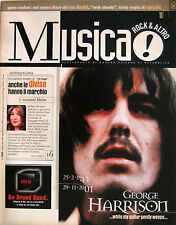 MUSICA 308 2001 George Harrison No Doubt Chuck Berry Shirley Horn Garth Brooks