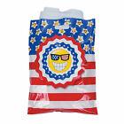 Patriotic Emoji Parade Goody Bags - Party Supplies - 50 Pieces