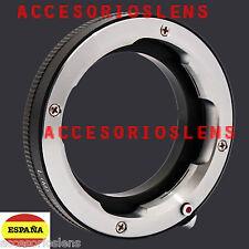 ADAPTADOR DE LEICA-M  LEICA M  A SONY NEX NEX3-5-7 NEX-VG10 DC