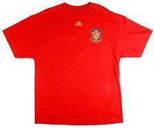 Mens Size XL SPAIN 2010/2011 HOME SHIRT #7 DAVID VILLA ADIDAS T-SHIRT