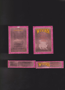 Wyvern Limited edition 60 card Starter deck with rule book new opened fitzgerald