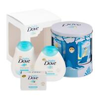 Baby Dove Rich Moisture Lullaby Musical Tin Bathing Gift Set For Babies