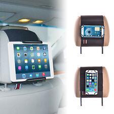 Universal Car Headrest Mount Holder for Tablets and Mobile Phones - i Pad 2 /3/4