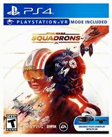 Star Wars Squadrons PS4 BRAND NEW FACTORY SEALED PlayStation 4 VR Free Shipping