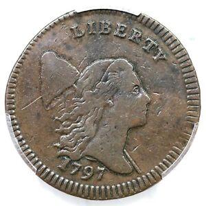 1797 C-3b R-4 PCGS VF 30 Lett Edge Liberty Cap Half Cent Coin 1/2c