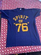 vintage t shirt bi centennial patriotic 1976 spirit of 76 70s retro photo shoot