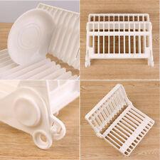 Piatto pieghevole piatto di asciugatura A Rastrelliera Griglia in plastica Storage titolare cucina