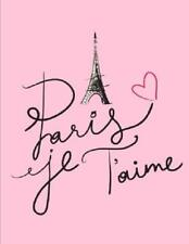 Birthday Presents For Teen Girls Paris Eiffel Tower Notebook Journal Diary USA