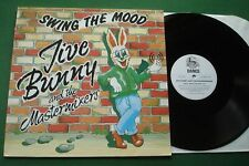 """Jive Bunny & The Mastermixers Swing The Mood + Miller Medley MFDT001 12"""" Single"""