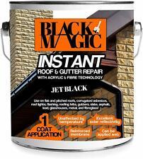 Waterproof Roof Paint Acrylic Sealant Fibre Gutter Repair 1kg 2.5kg Black Grey
