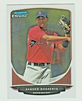 2013 Bowman Chrome Draft Top Prospects #TP-40 XANDER BOGAERTS RC Rookie Red Sox