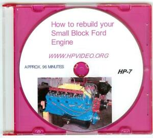 "Rebuild your Ford 5.0, 289, 302, 351W/393 Engine.""DVD"" or ""USB""  your choice!"