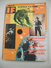 """WORLDS OF IF SF"" 3/68 VG/FN! HARLIN ELLISON, LARRY NIVEN! FINLAY & BODE ART!"
