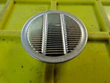 """6 Of Air Vent 2.5"""" Cut Out Alum Soffit Vent, No Screening Die-Stamped Grill"""
