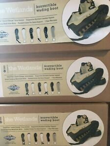Special Offer Korkers Wetlands Multi Sole Wading Boots All Sizes Lising