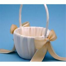 Ivy Lane Design A01085Fb/Ivo Custom Color Flower Girl Basket-Ivory