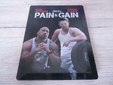 Bluray Steelbook Pain & Gain sehr selten Wie Neu