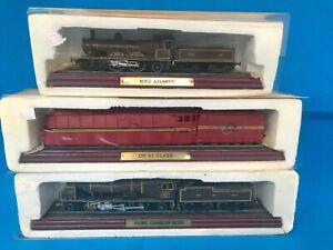 Atlas Editions Locomotive Static Model Train Scale 1/100 x3