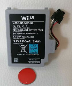 Original Wii U GamePad High Capacity Battery 1500 mAh Akku Batterie gebraucht