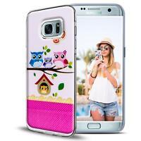 Handy Tasche für Samsung Galaxy S7 Schutz Hülle Silikon Cover Backcover Case