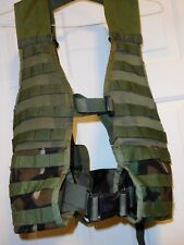 FLC Vest Woodland Fighting Load carrier Group of 5 Vests