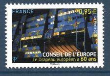 SERVICE 163 NEUF * * LUXE - 60 ANS DU DRAPEAU EUROPEEN
