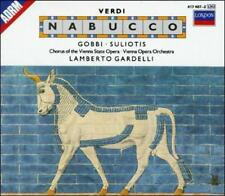 Nabucco VERDI CD Tito Gobbi Elena Suliotis LONDON VIENNA STATE OPERA  NICE