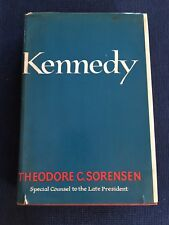 Kennedy by Theodore Sorensen First Edition SIGNED