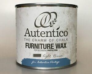 Autentico Furniture Wax 250 ml  / Light Brown