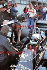 Elio de Angelis JPS Lotus 97T holandés Grand Prix 1985 fotografía