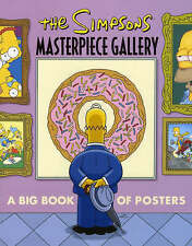 The Simpsons Masterpiece Gallery: A Big Book of Posters, Groening, Matt, Accepta